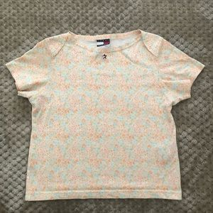 Floral Baby Tee